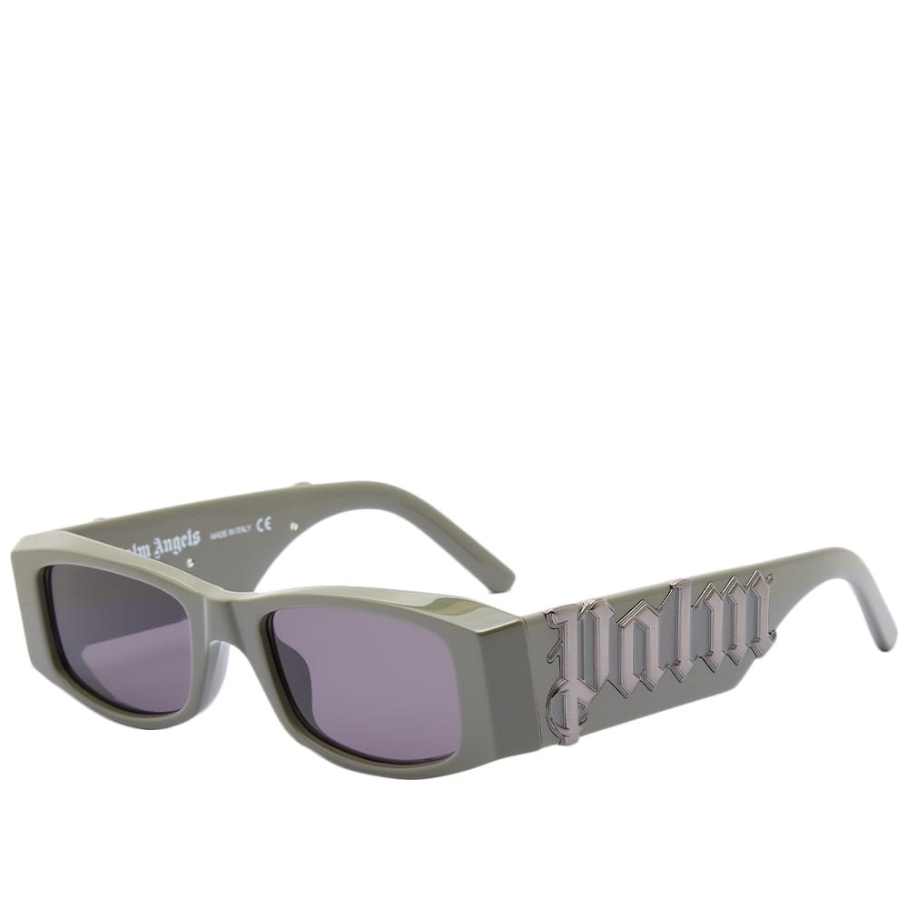 Palm Angels Pa01 Sunglasses Military Dark Grey - Military Green