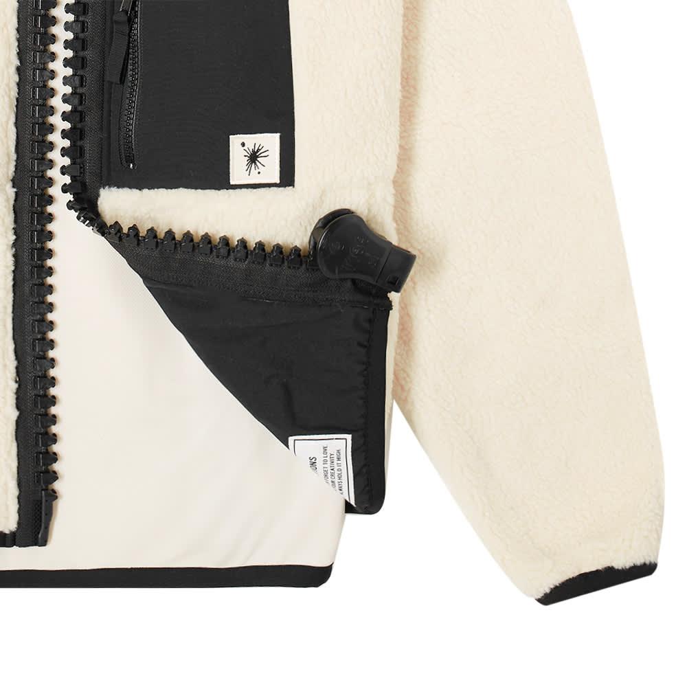 Maison MIHARA YASUHIRO Boa Fleece Jacket - White