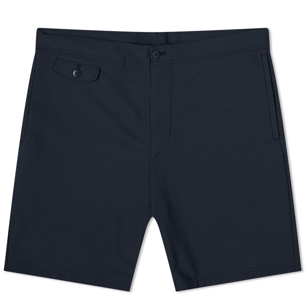 Visvim Sport Walker Slack Short - Navy