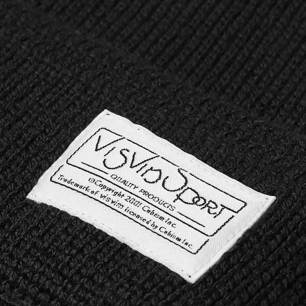 Visvim Sport Knit Beanie - Black