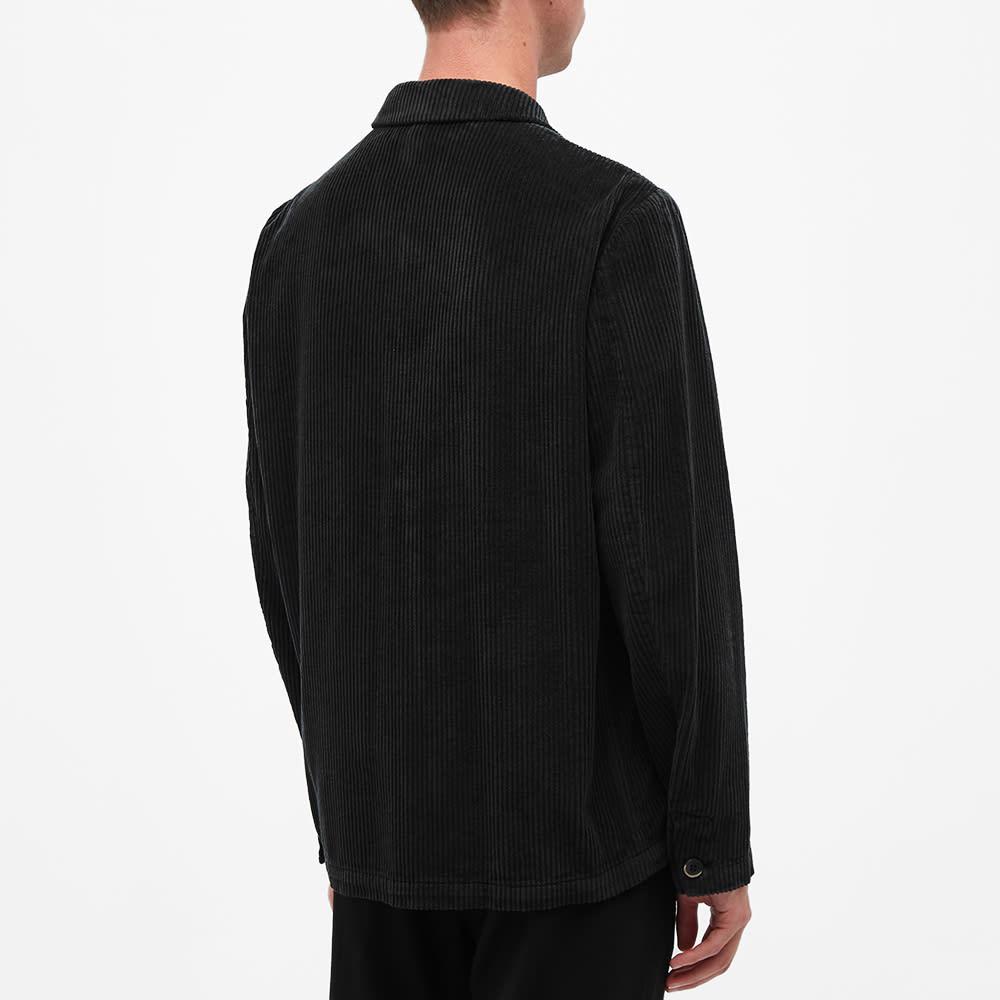 Barena Cord Overshirt - Black