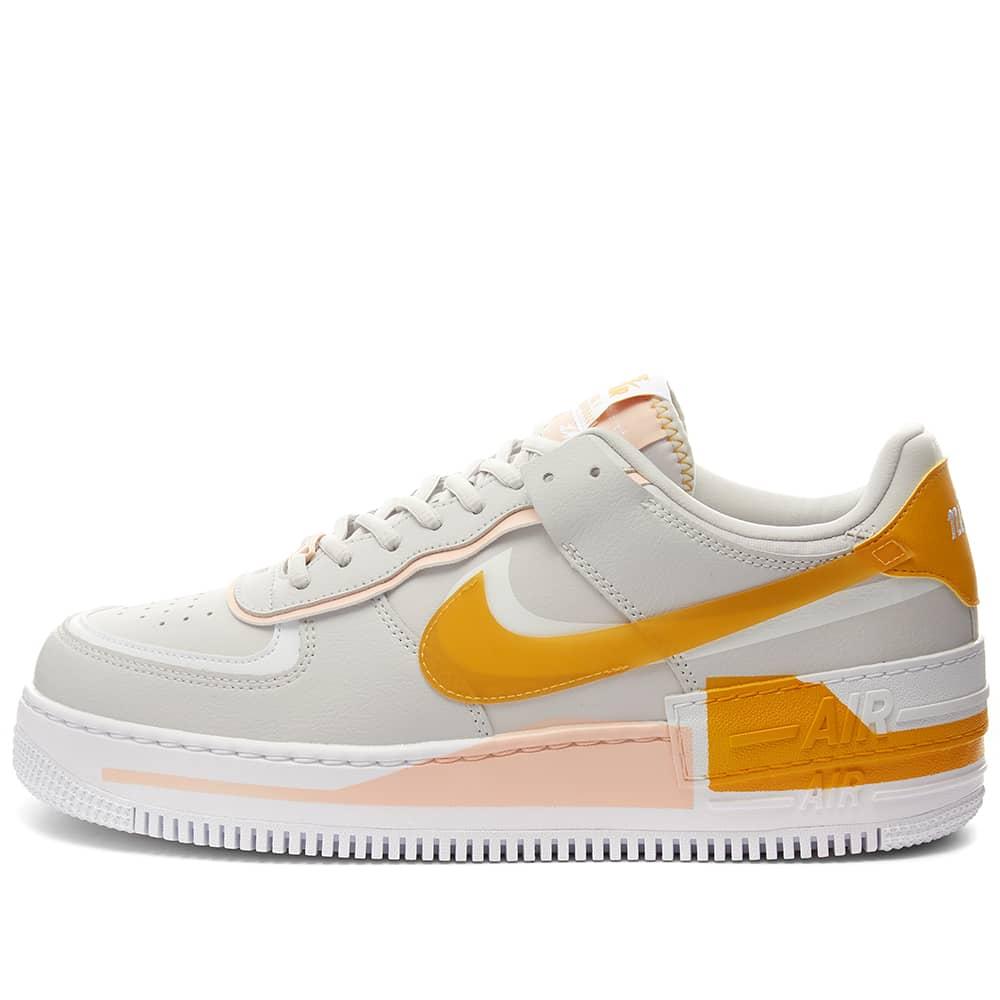 Nike Air Force 1 Shadow Se W Vast Grey Pollen Rise Coral End