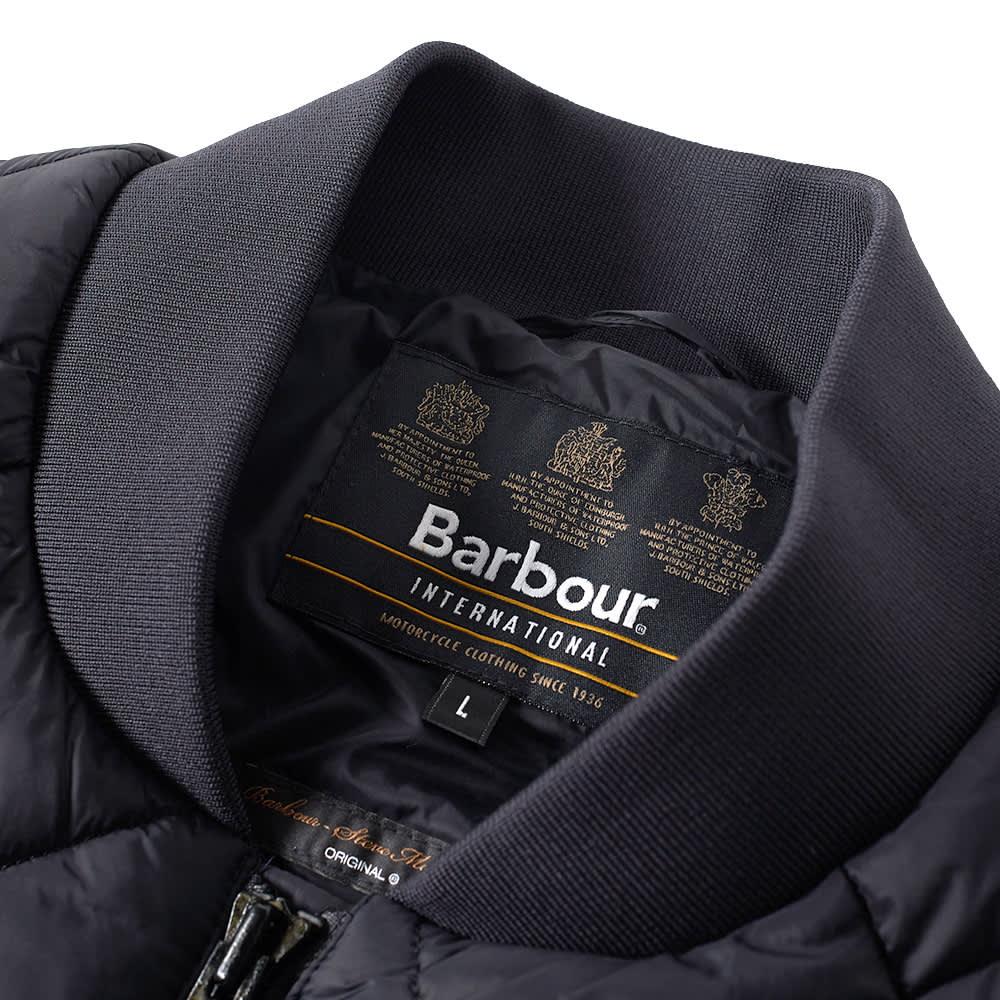 Barbour Steve McQueen Quilt Jacket - Black