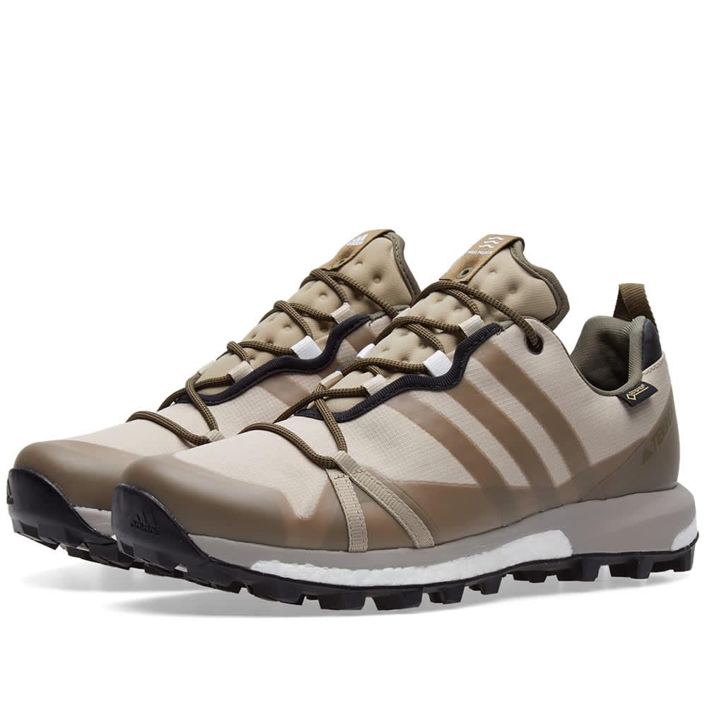 Adidas Consortium x Norse Projects Terrex Agravic - Khaki, Grey & Black