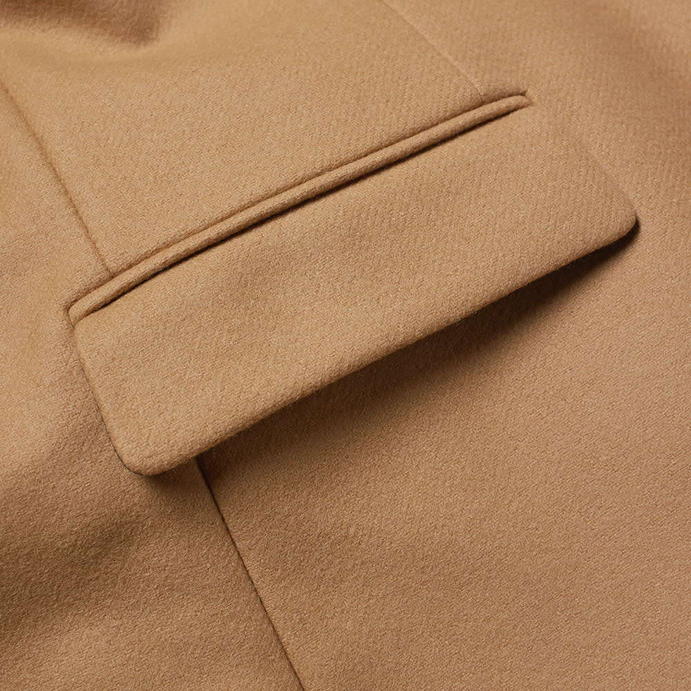 AMI Two Button Overcoat - Camel