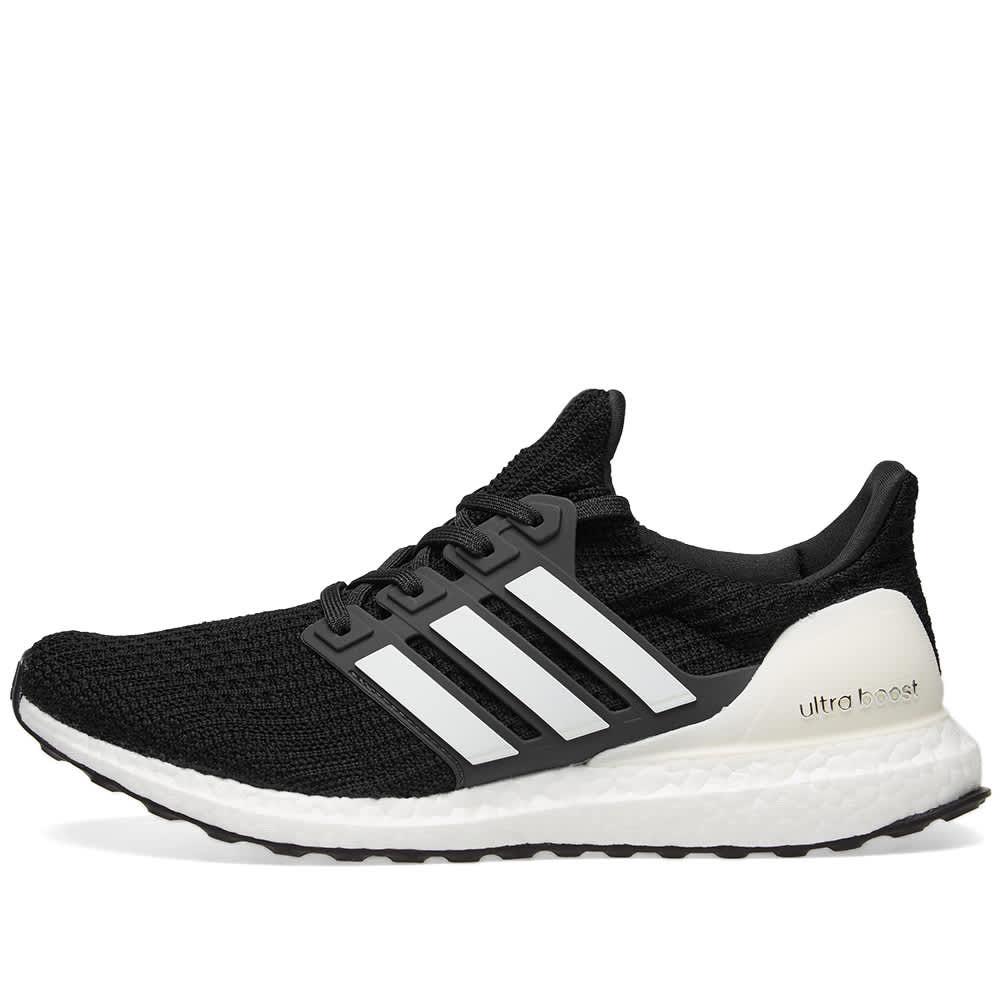 Adidas Ultra Boost - Core Black & Carbon White