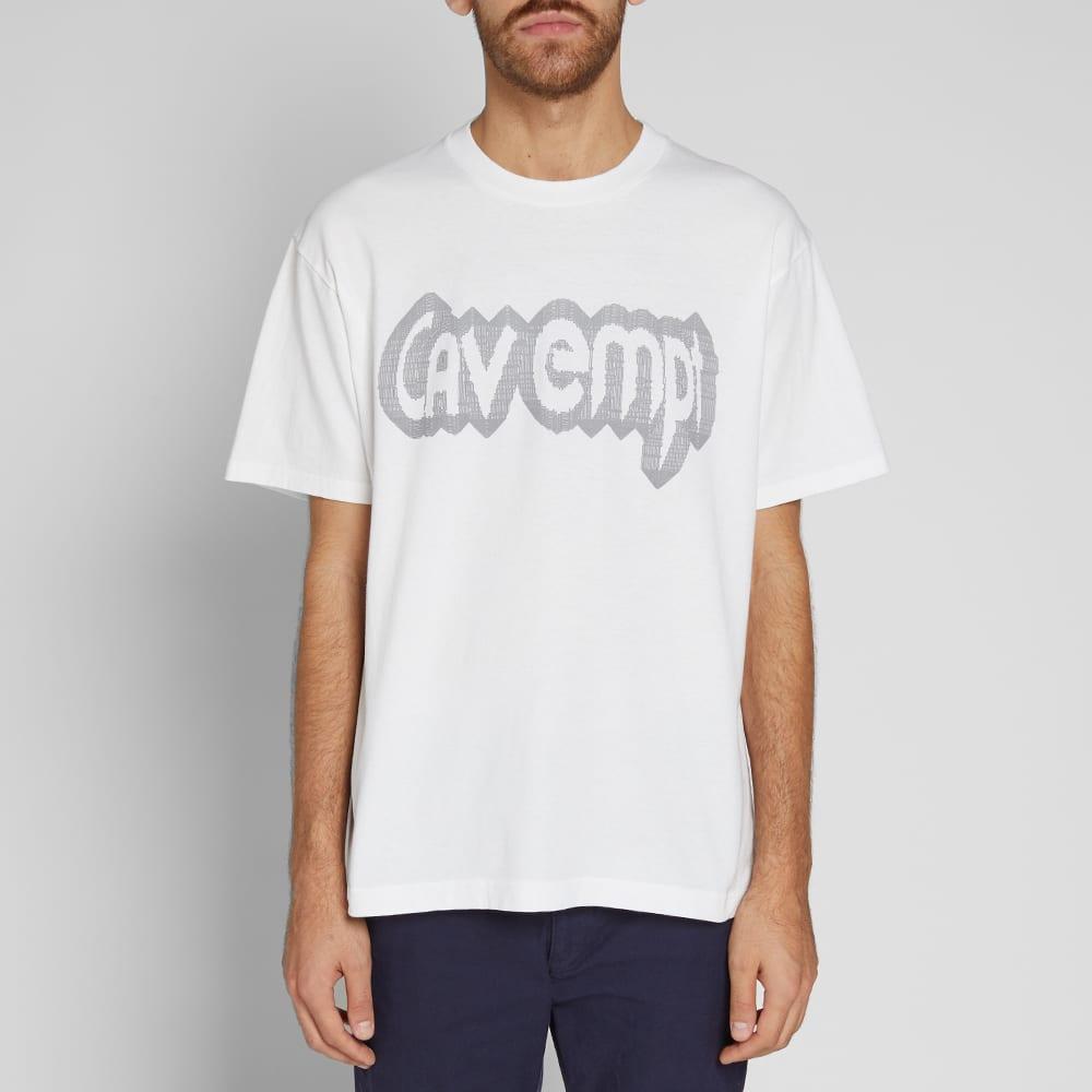 Cav Empt Big Rave Tee - White