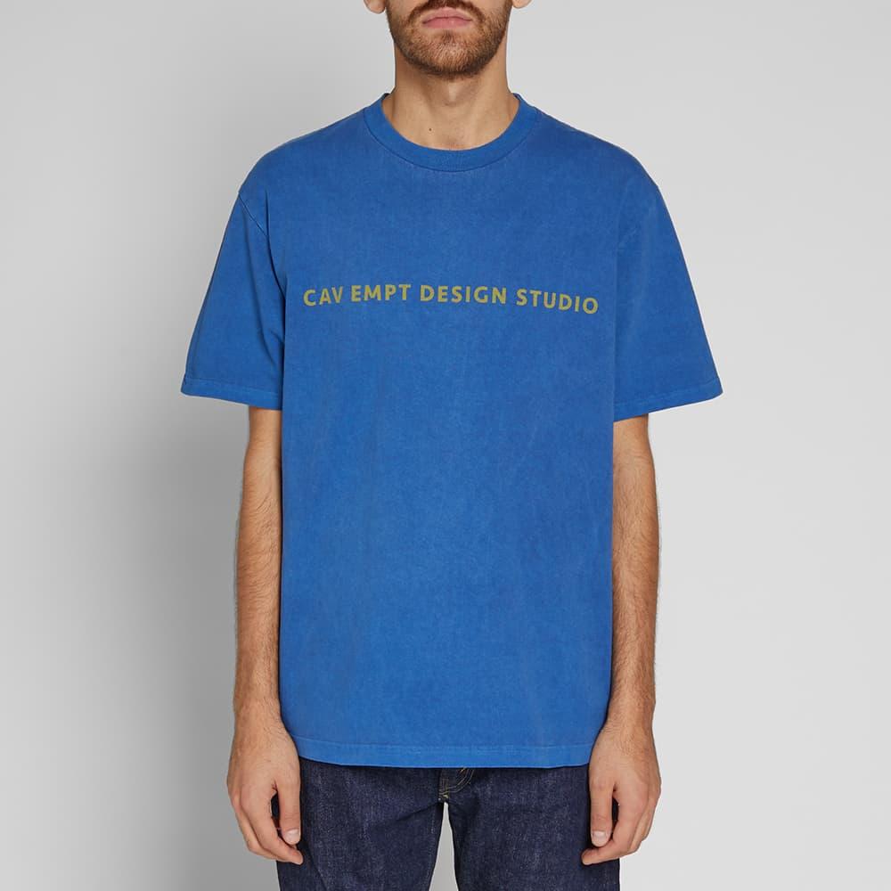 Cav Empt Design Studio Tee - Blue