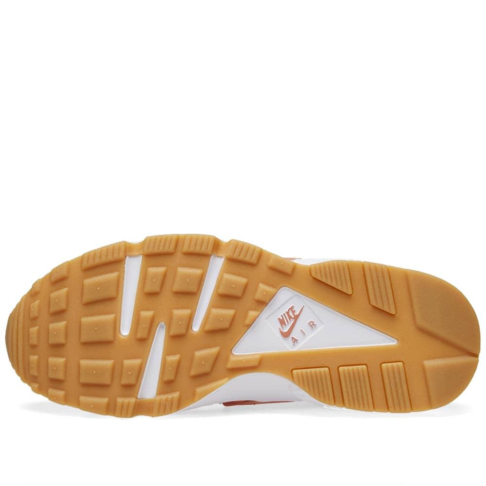 Nike Air Huarache Run Premium W - Blush, Beige, White & Gum