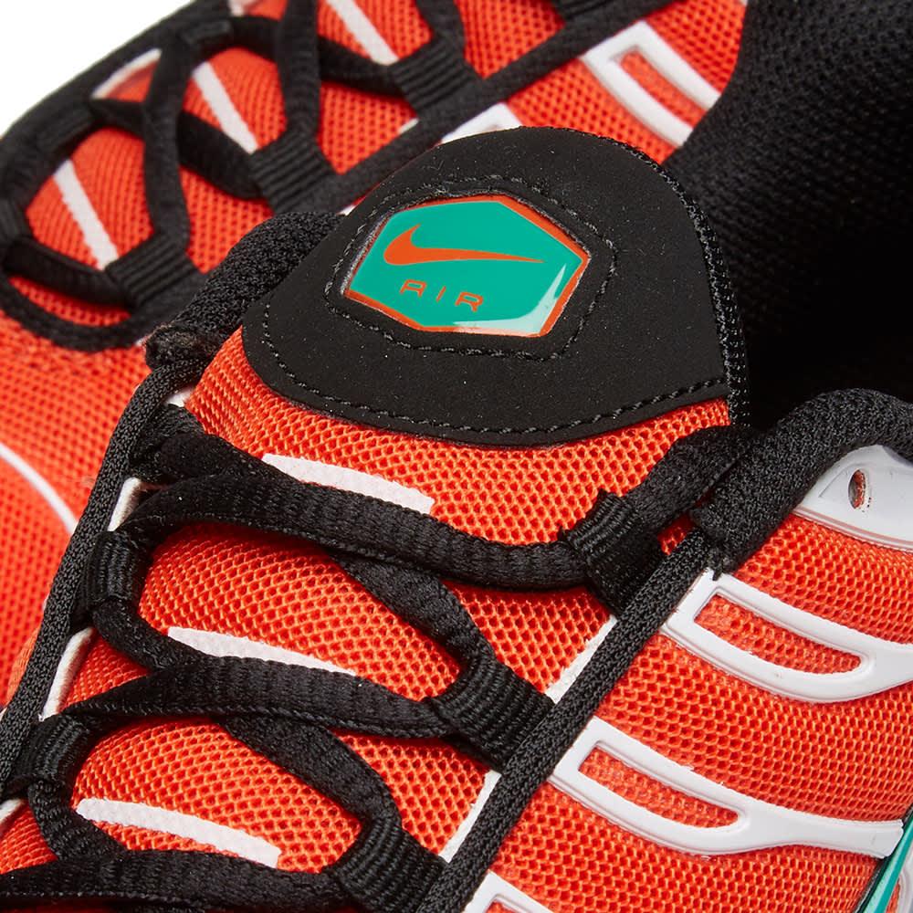 Nike Air Max Plus - Orange, Green, White & Black