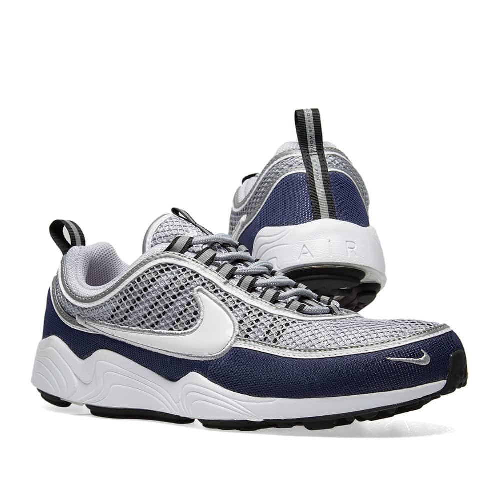Nike Air Zoom Spiridon '16 - Grey, White, Navy & Black