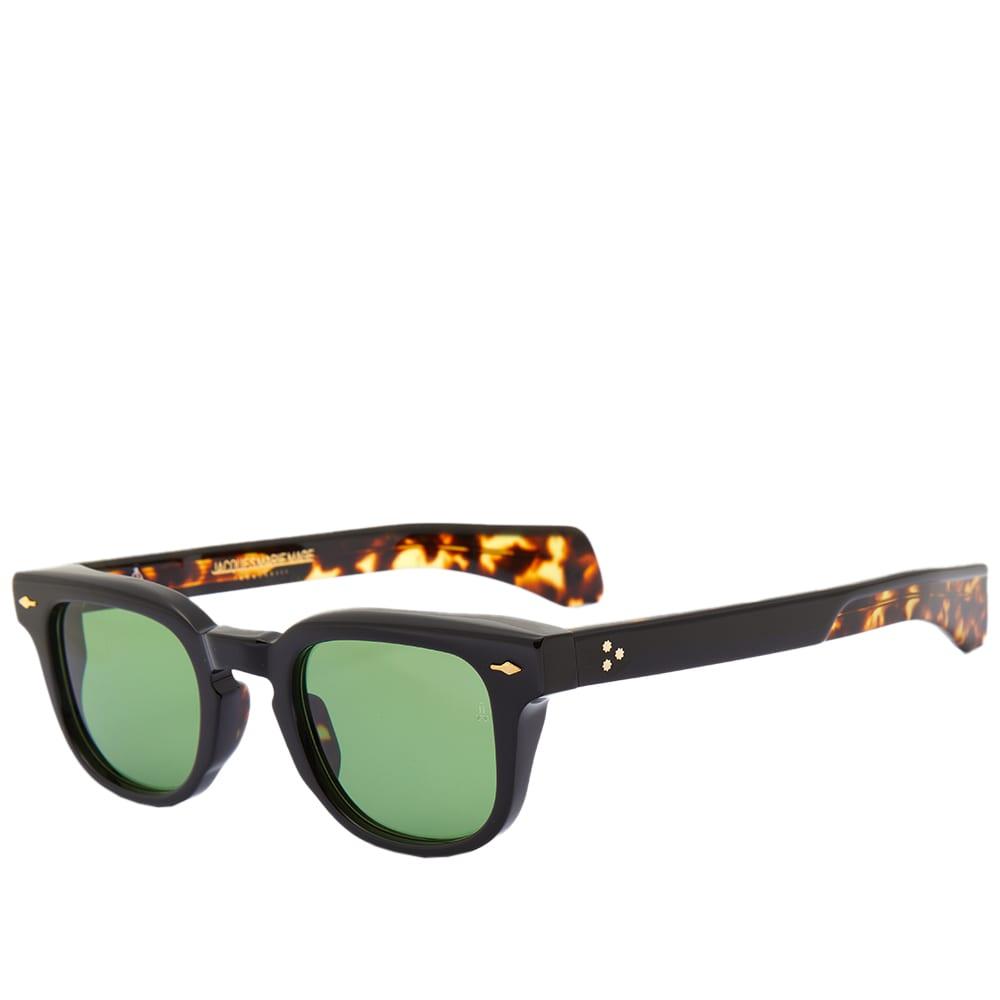 Jacques Marie Mage Jax Sunglasses - Noir & Green