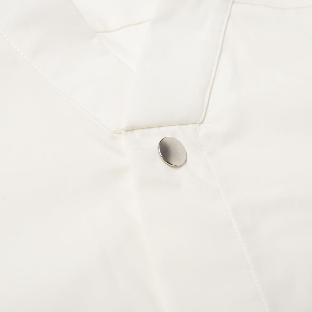 Rick Owens Short Sleeve Vacation Shirt - Milk