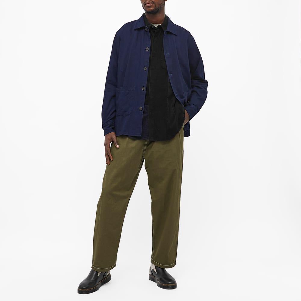 Engineered Garments Cord Patchwork Shirt - Black
