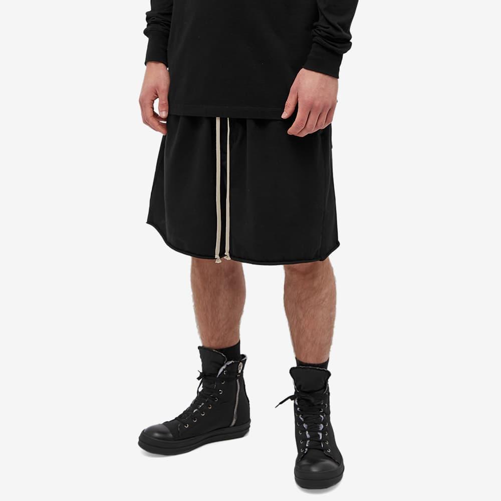 Rick Owens DRKSHDW Mediumweight Faun Shorts - Black