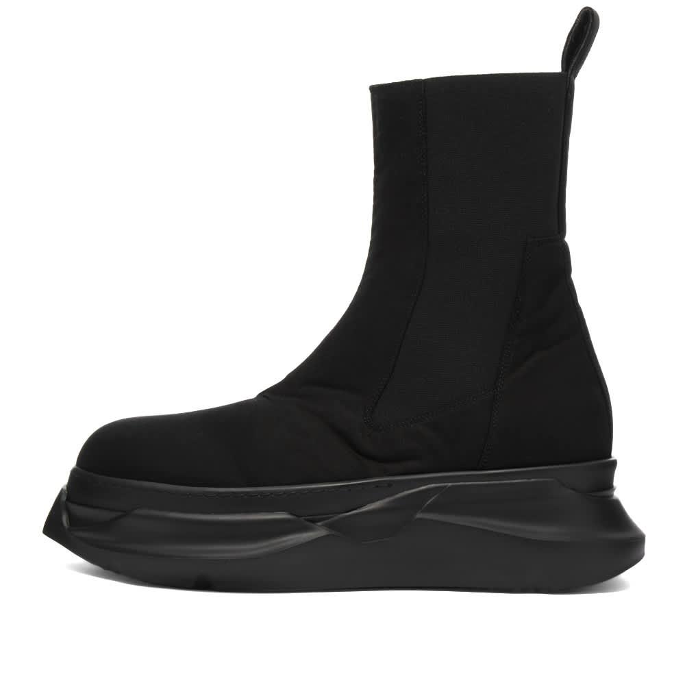 Rick Owens DRKSHDW Beatle Abstract Hi Sneaker - Black