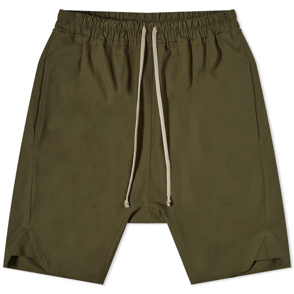 Rick Owens Basket Swingers Short - Green