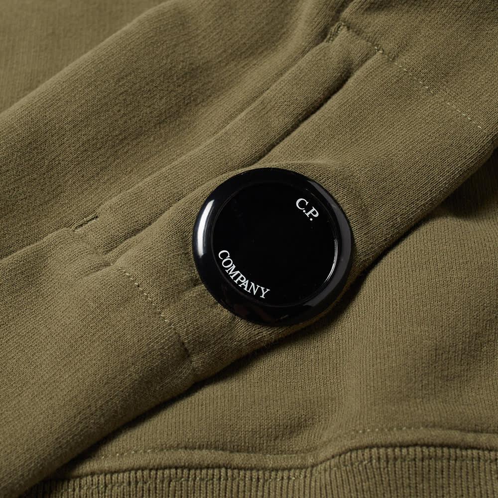 C.P. Company Undersixteen Arm Lens Crew Sweat - Stone Grey