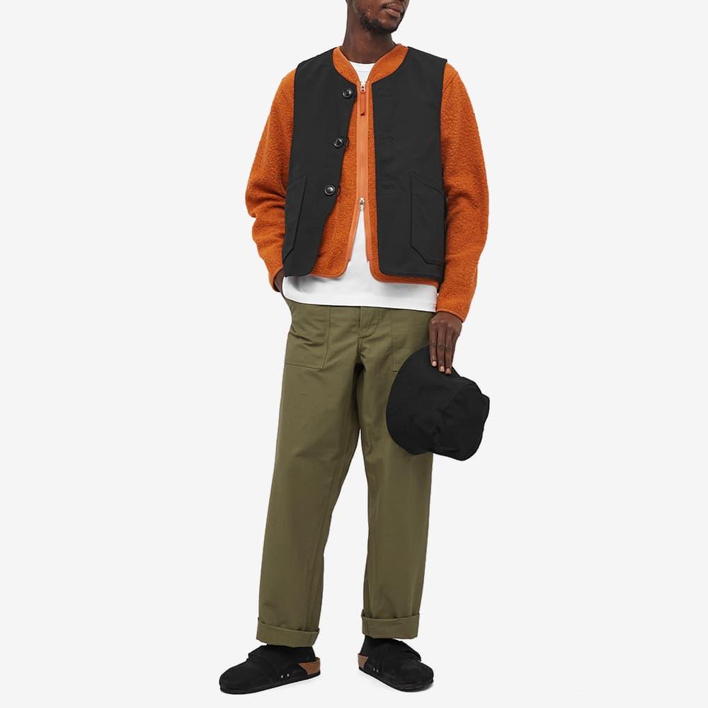 Engineered Garments Ripstop Over Vest - Black Ripstop