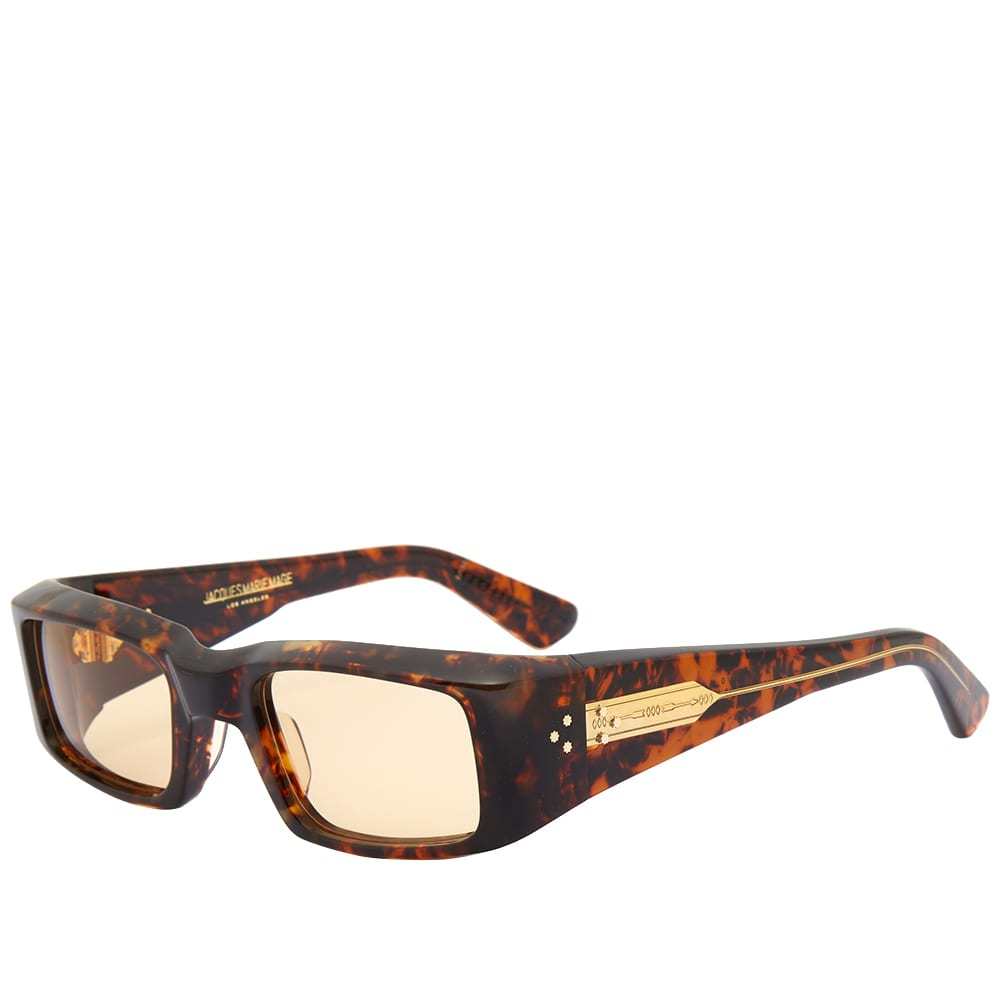 Jacques Marie Mage Harrison Sunglasses - Agar & Yellow