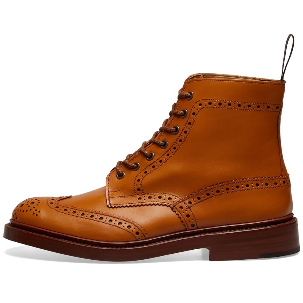 Tricker's Stow Brogue Derby Boot - Acorn Antique