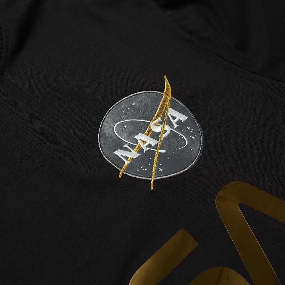 Alpha Industries NASA Reflective Tee - Black & Gold