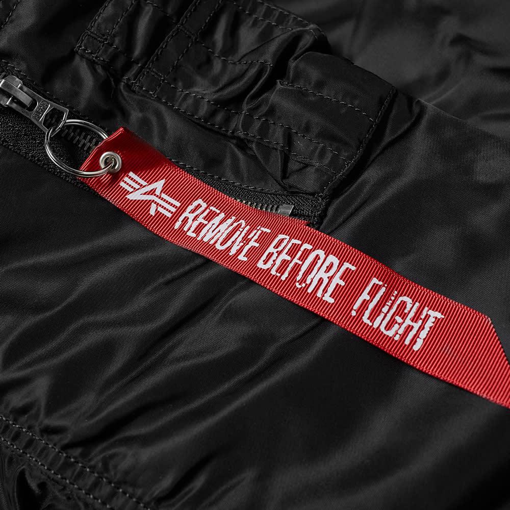 Alpha Industries Hooded MA-1 Jacket - Black