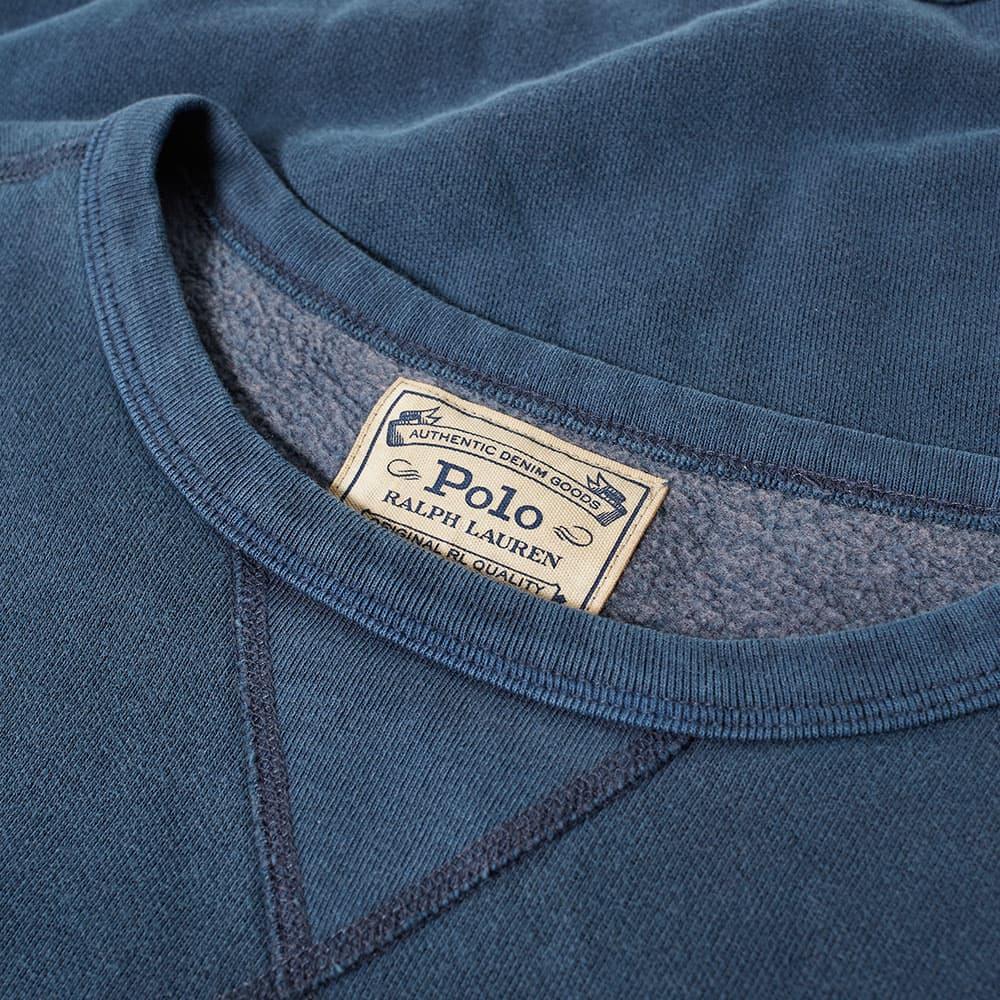 Polo Ralph Lauren Vintage Fleece Crew Sweat - Cruise Navy