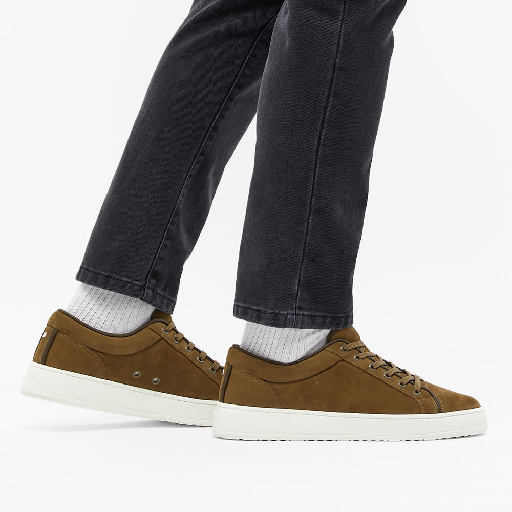 ETQ. Suede Low Top 1 Sneaker - Forest Green