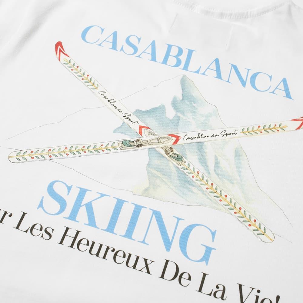 Casablanca Ski Tee - White