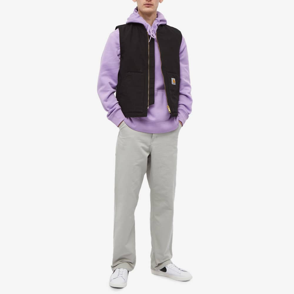 Nike SB Chest Logo Popover Hoody - Violet Star & Dark Wine