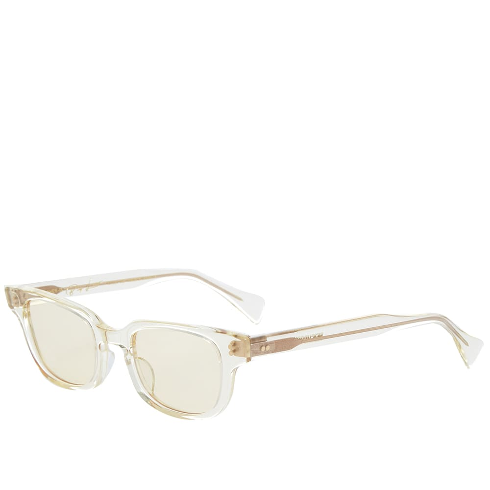 Neighborhood Big Loco Sunglasses - Clear & Yellow