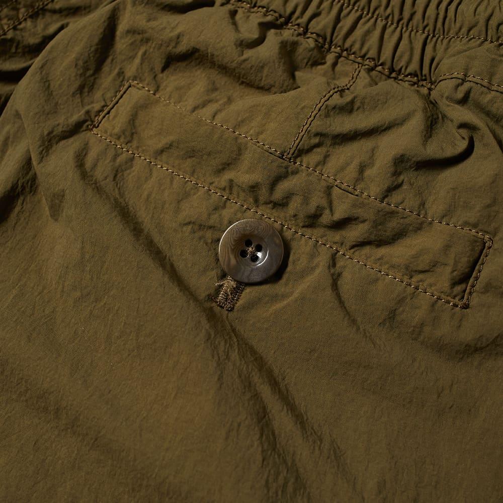 Ten C Garment Dyed Nyon Cargo Pants - Olive