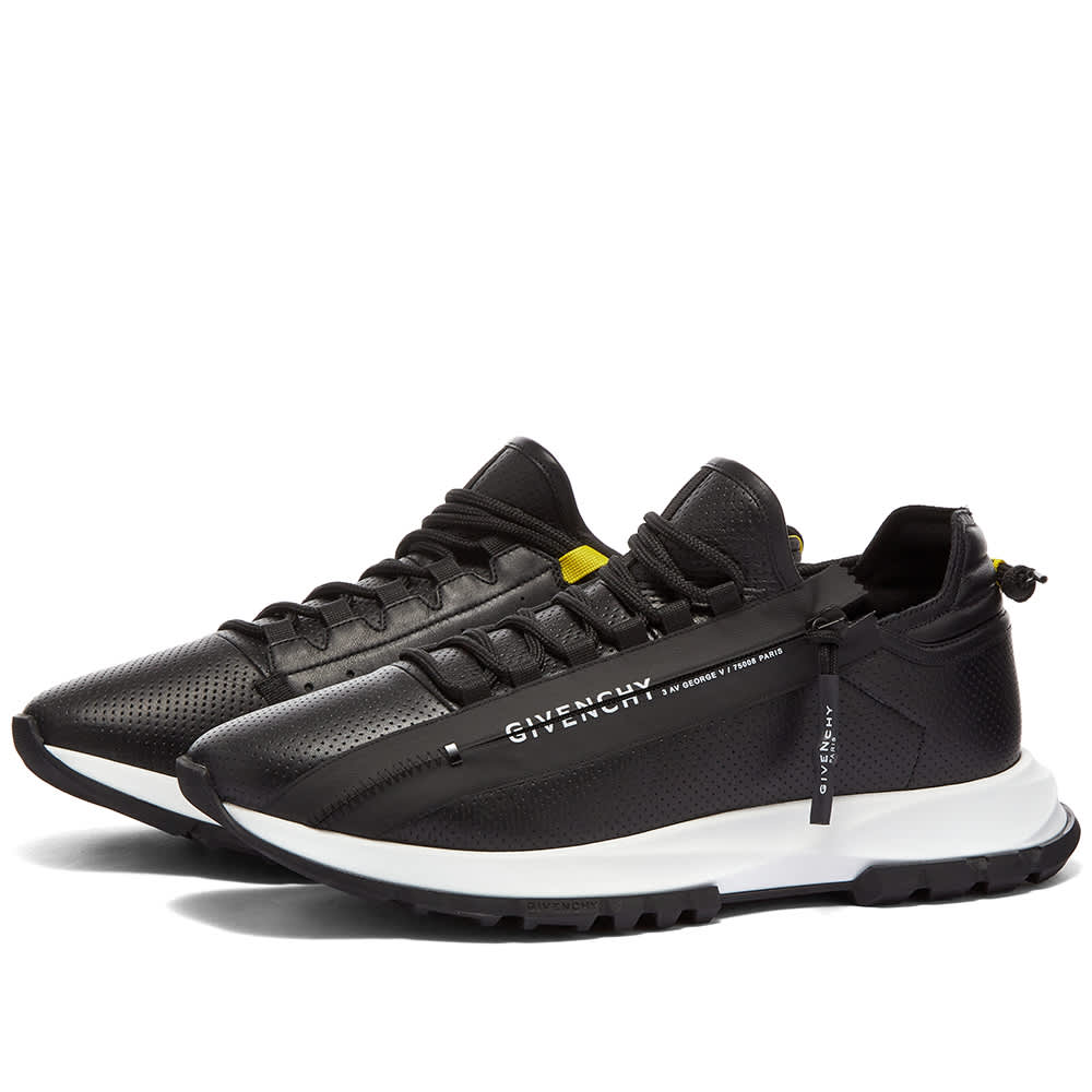 Givenchy Spectre Zip Low Sneaker - Black