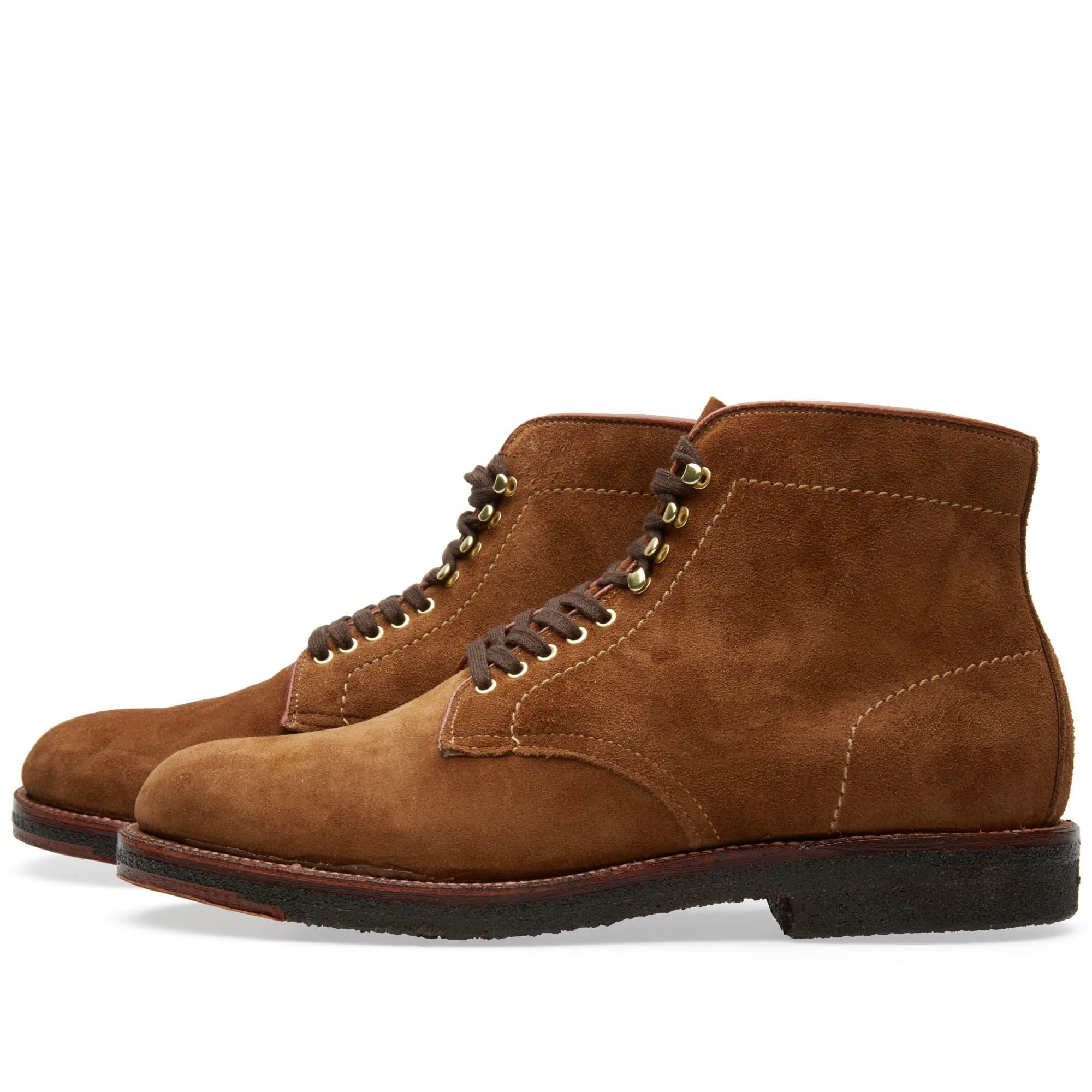 Alden Munson Boot - Snuff Suede