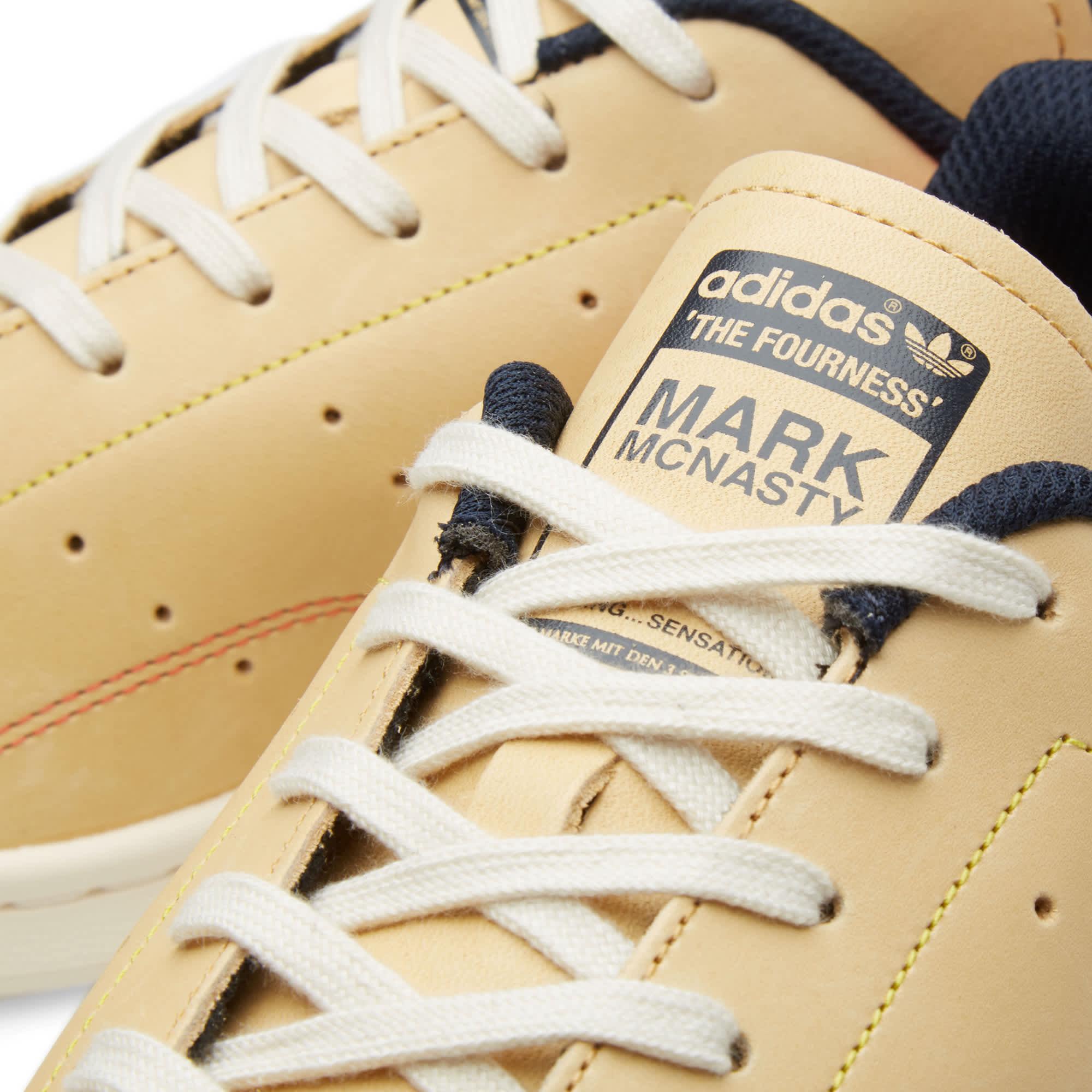Adidas x The Fourness x Mark McNairy Stan Smith - Pale Nude & Chalk White