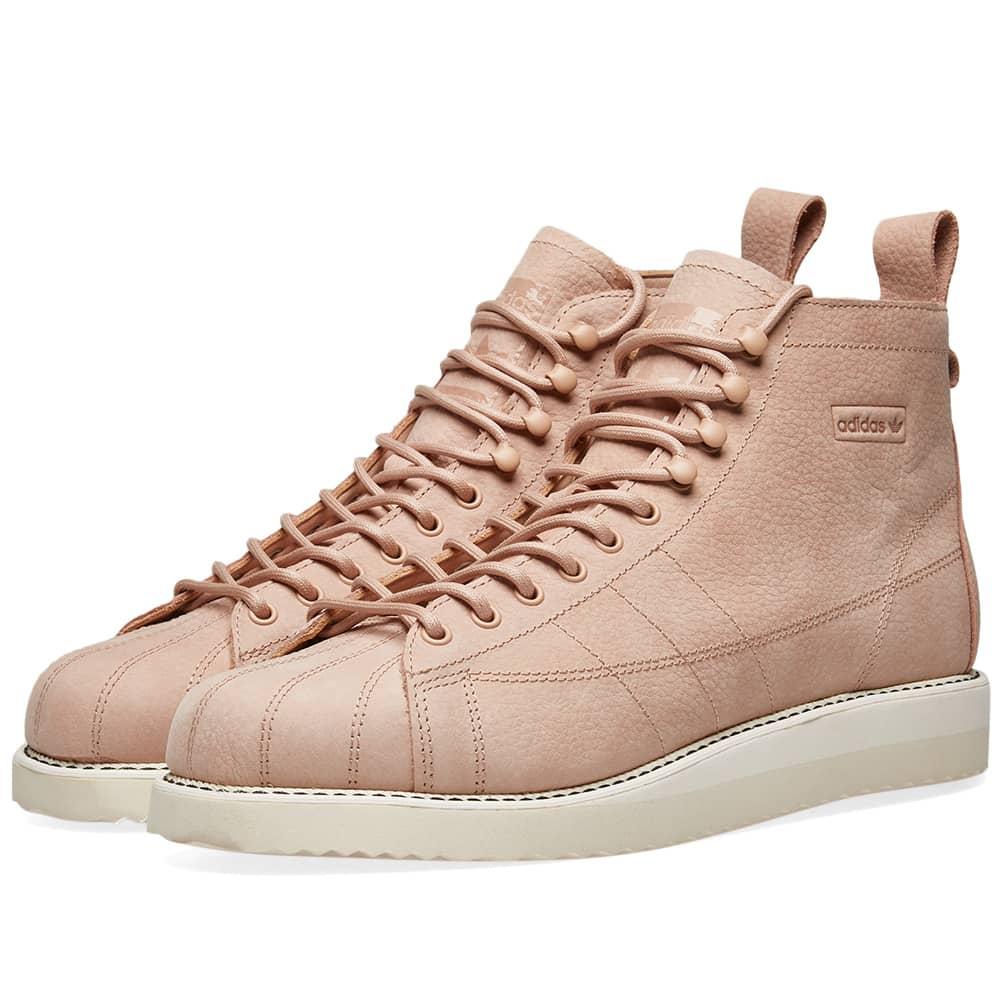 Adidas Superstar Boot W Ash Pearl \u0026 Off