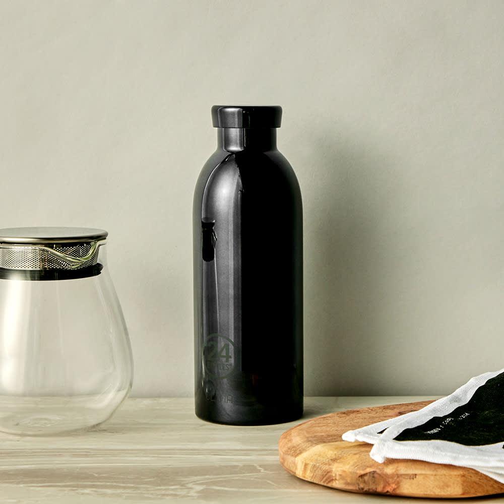 24 Bottles Clima Insulated Bottle - Black Radiance 500ml
