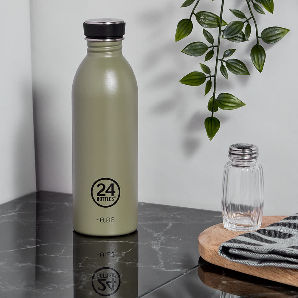 24 Bottles Urban Bottle - Sage Stone 500ml