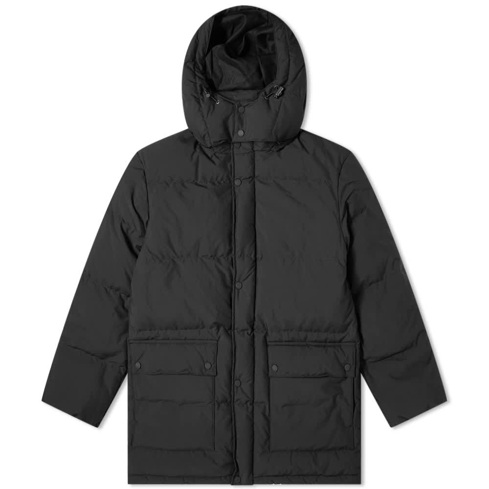 Danton White Goose Down Jacket - Black