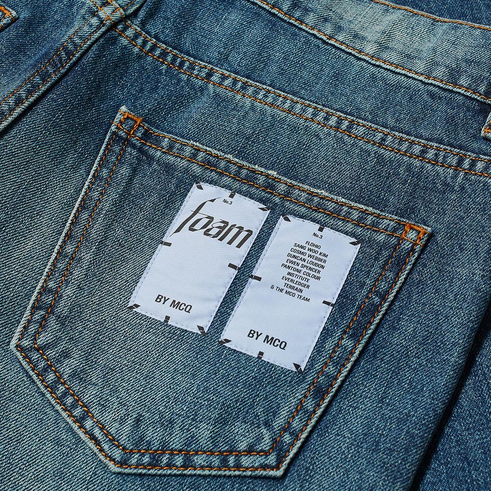 MCQ Slim Fit Jean - Mid Wash Denim