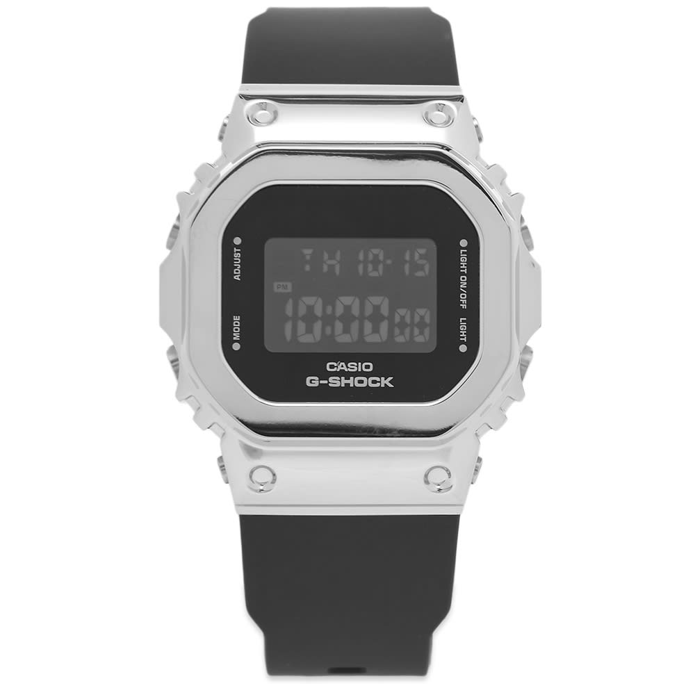 Casio G-Shock GM-5600 Series Watch - Black & Silver