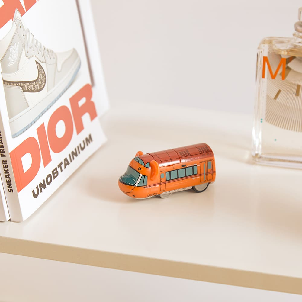Medicom Train Odakyu Romance Car 7 Be@rbrick - Red 100%