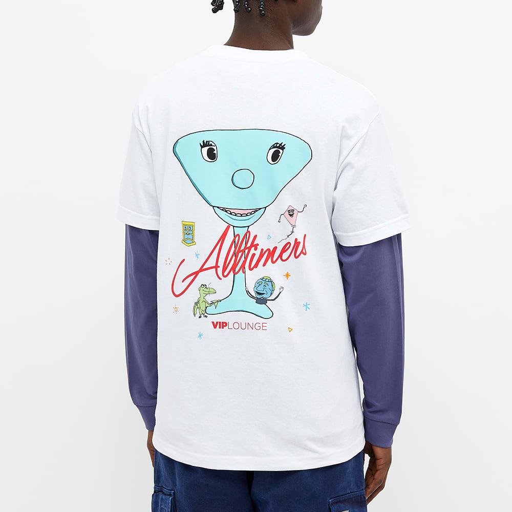 Alltimers Peewee Logo Tee - White