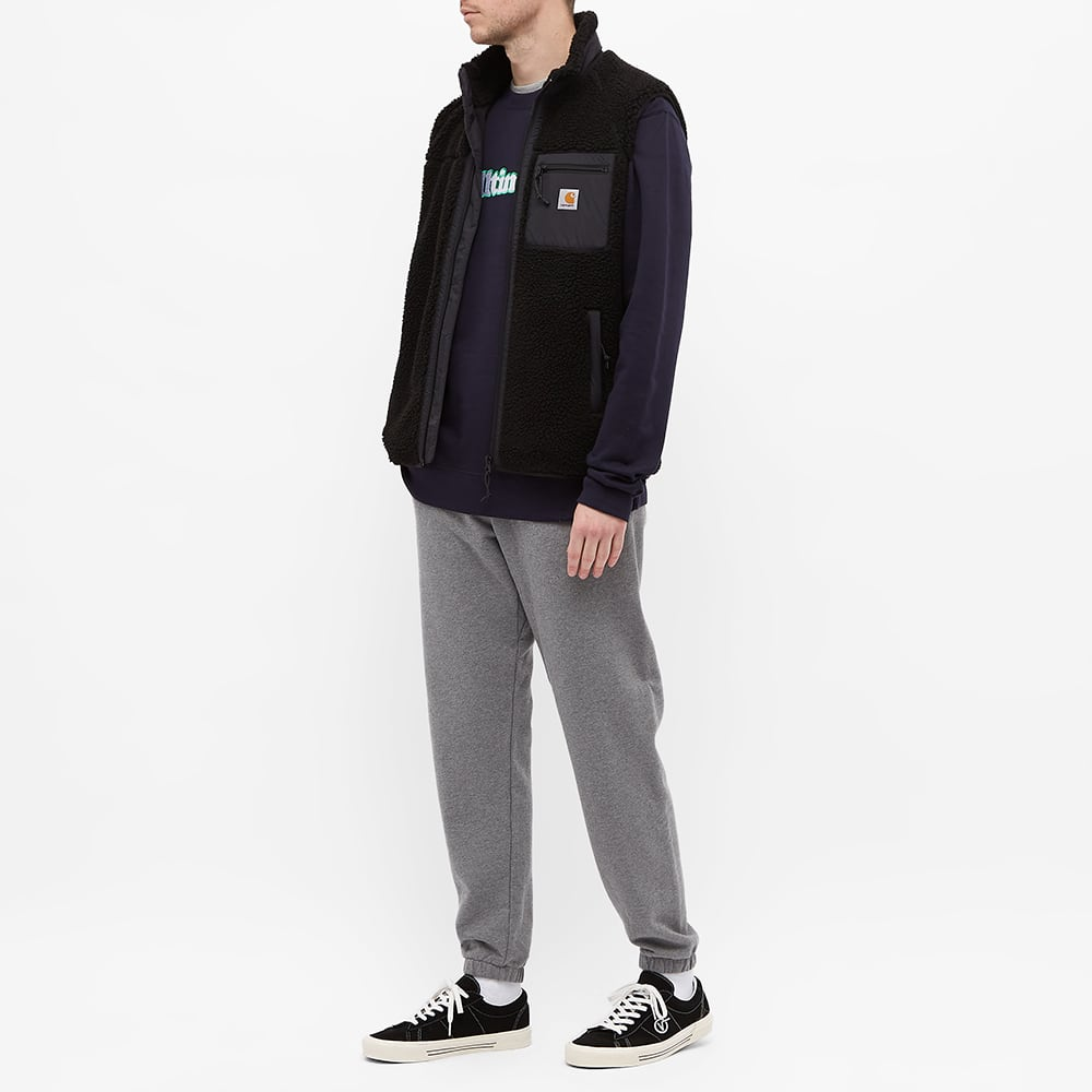 Alltimers Embroidered Broadway Crew Sweat - Navy