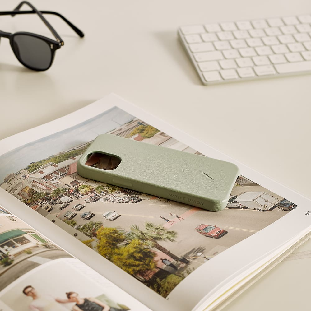 Native Union Clic Classic iPhone 12 Mini Case - Sage