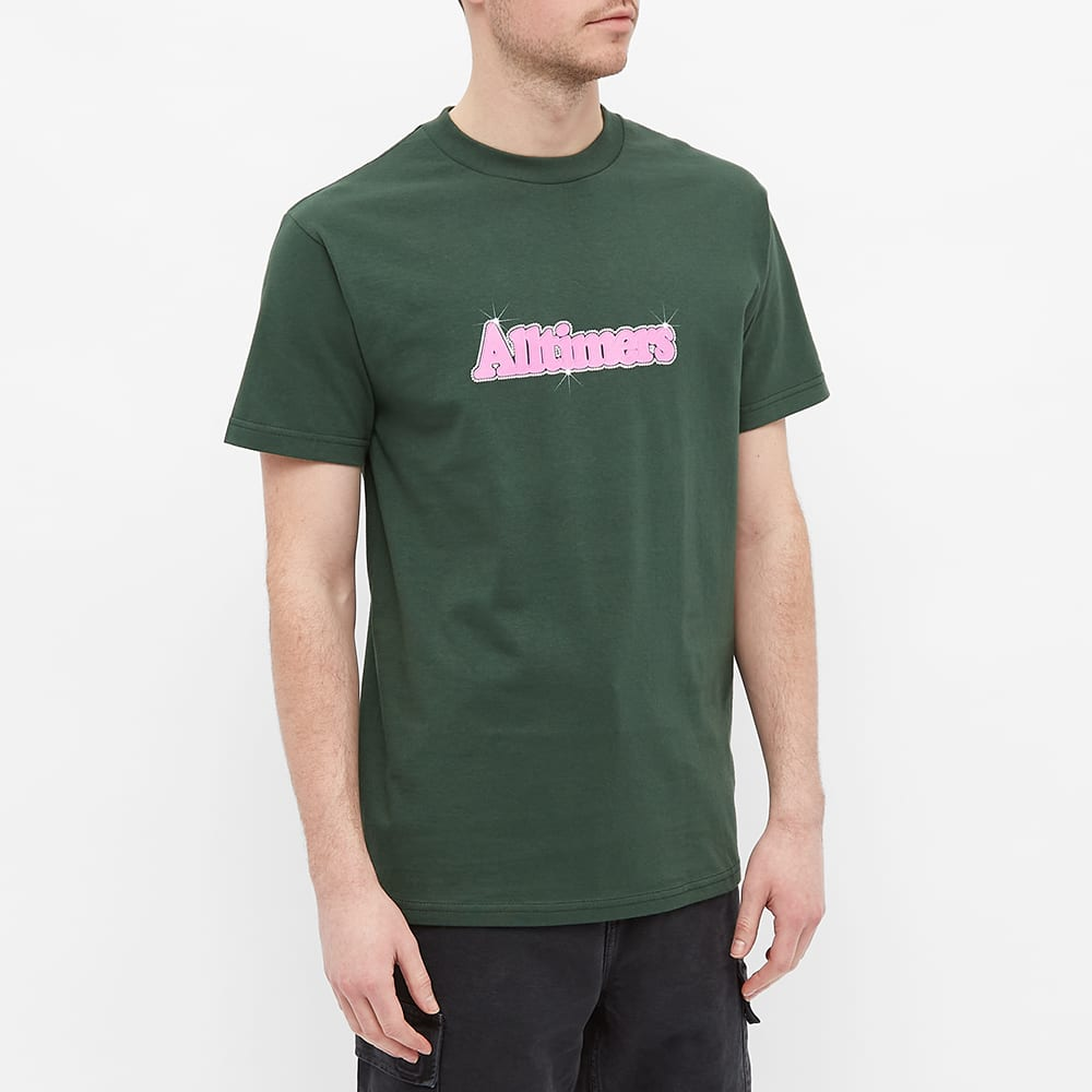 Alltimers Barbay Broadway Logo Tee - Forest Green