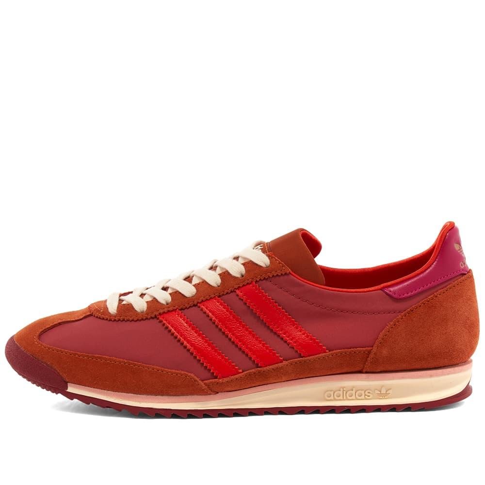 Adidas x Wales Bonner SL72 - Trace Pink, Orange & Maroon