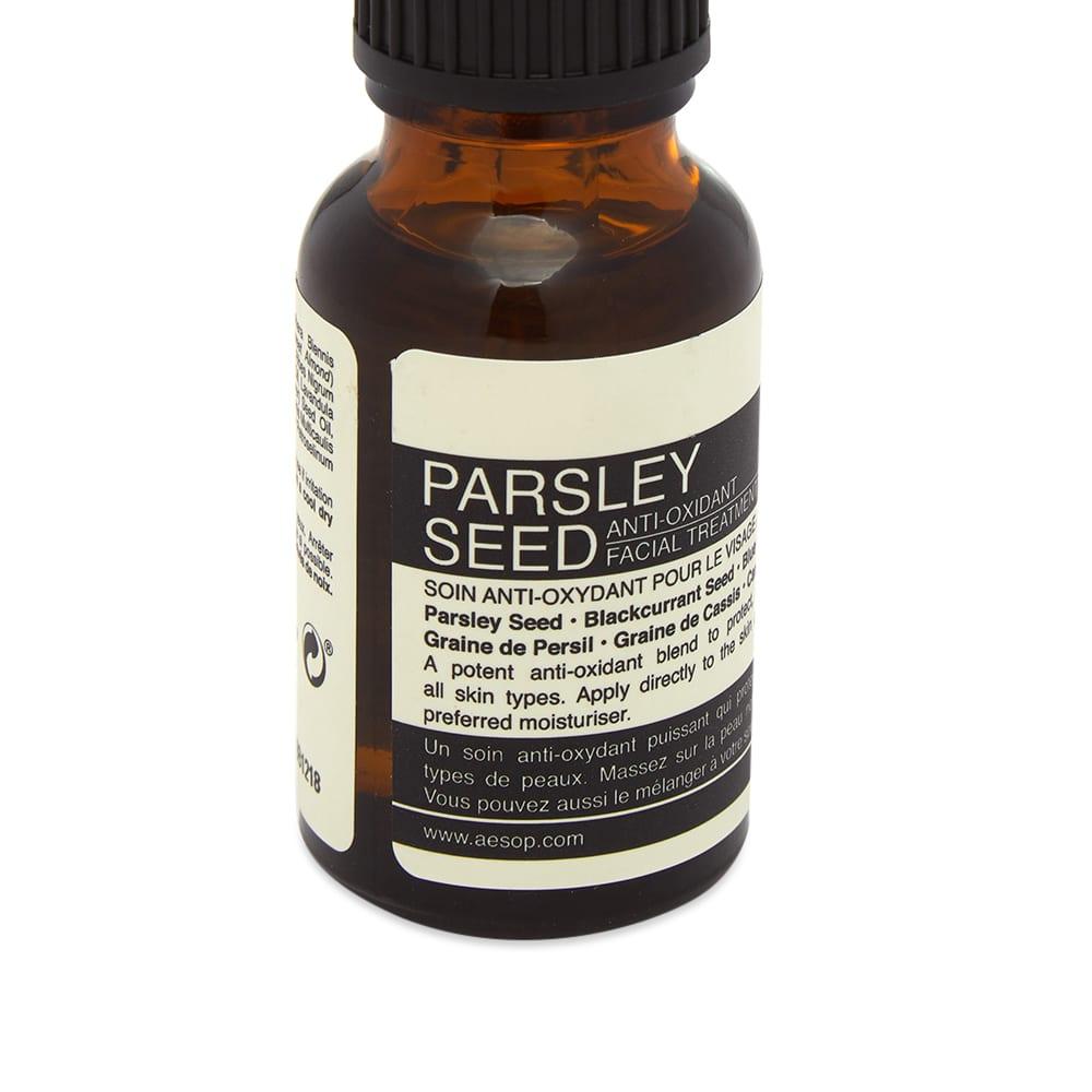 Aesop Parsley Seed Anti-Oxidant Facial Treatment - 15ml