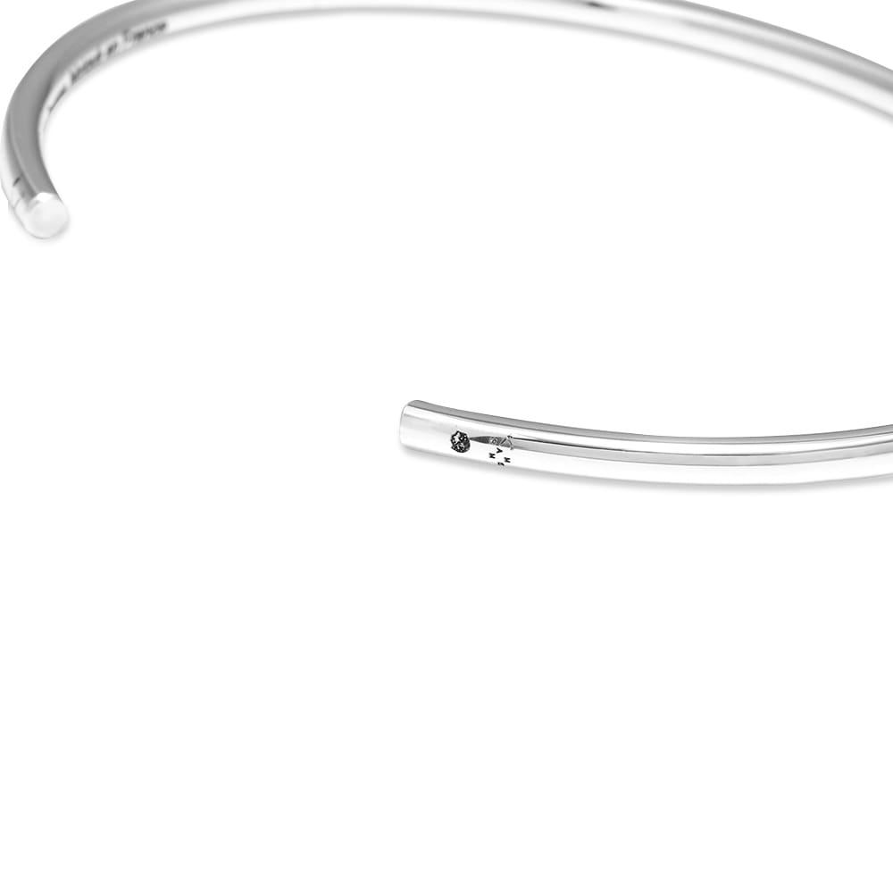 Le Gramme Brushed Bangle Bracelet - Silver 7g